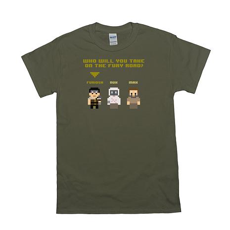 8bit fury road shirt