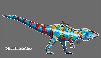 2021. Licensable. Allosaurus.