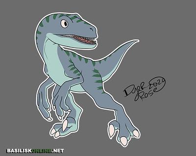 2020. Licensable. Jurassic-Park styled Velociraptor.
