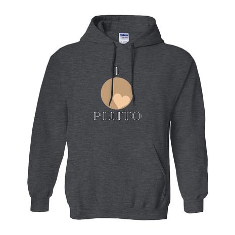Heart Pluto pullover hoodie