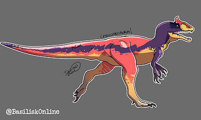 2021. Licensable. Crylophosaurus.