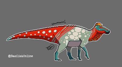 2021. Licensable. Edmontosaurus.