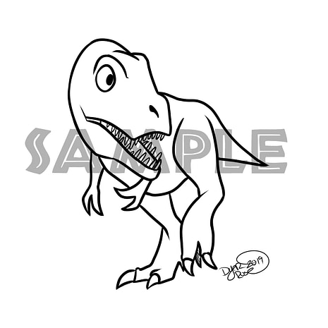 T-Rex Sample