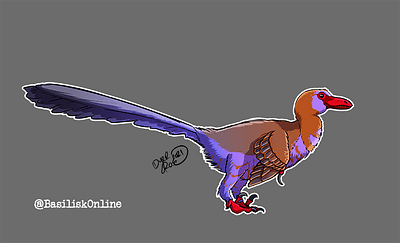2021. Commission. Velociraptor.