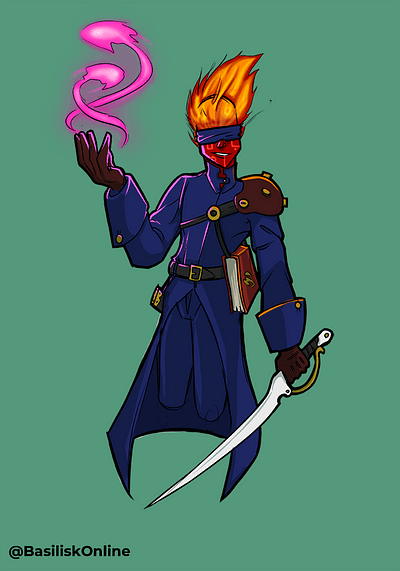 2016. Licensable. Genasi Swordmage.