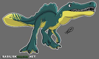 2020. Licensable. Spinosaurus.
