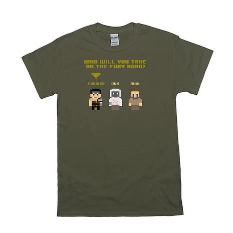 8bit fury road shirt