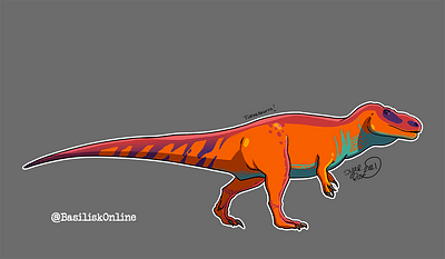 2021. Licensable. Torvosaurus.